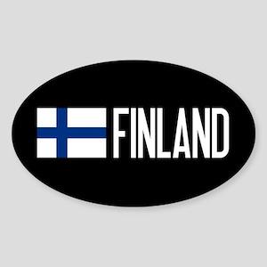 Finland: Finnish Flag & Finland Sticker