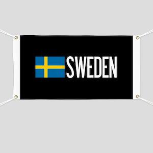 Sweden: Swedish Flag & Sweden Banner