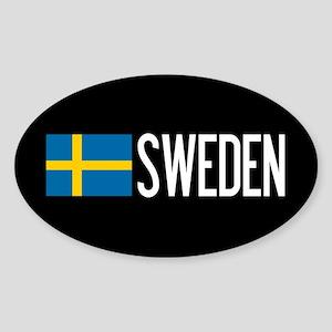 Sweden: Swedish Flag & Sweden Sticker