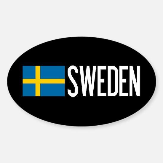 Sweden: Swedish Flag & Sweden Decal