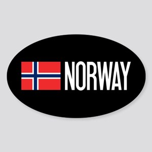 Norway: Norwegian Flag & Norway Sticker