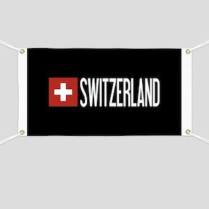 Switzerland: Swiss Flag & Switzerland Banner