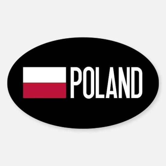 Poland: Polish Flag & Poland Decal