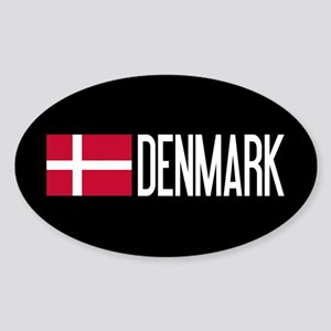 Denmark: Danish Flag & Denmark Sticker