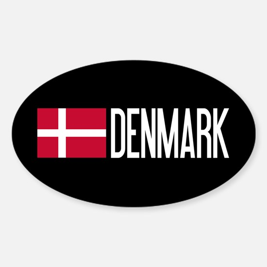 Denmark: Danish Flag & Denmark Decal