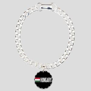 Hungary: Hungarian Flag Charm Bracelet, One Charm
