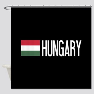 Hungary: Hungarian Flag & Hungary Shower Curtain