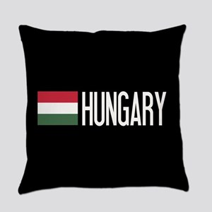 Hungary: Hungarian Flag & Hungary Everyday Pillow