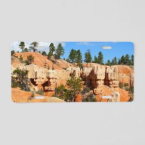 Bryce Canyon hoodoos, Utah Aluminum License Plate