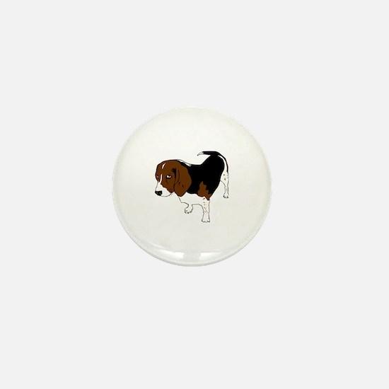 Hound Dog Mini Button