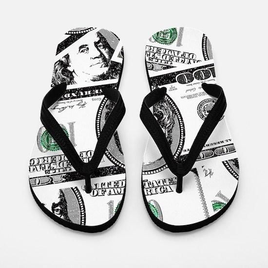$100 dollars Flip Flops