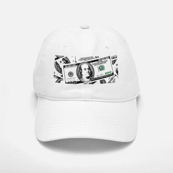 $100 dollars Baseball Baseball Cap