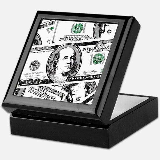 $100 dollars Keepsake Box