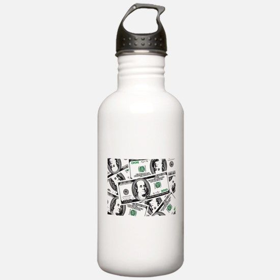 $100 dollars Sports Water Bottle