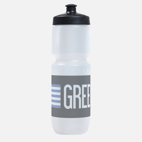 Greece: Greek Flag & Greece Sports Bottle