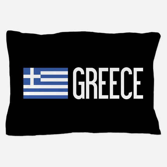 Greece: Greek Flag & Greece Pillow Case