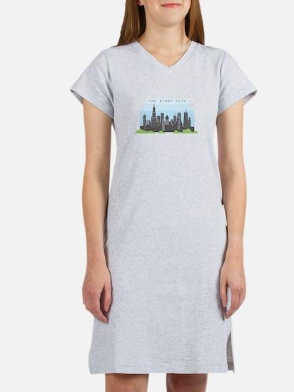 Windy City Women's Nightshirt