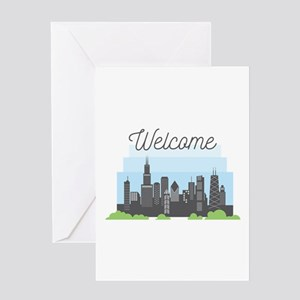 Chicago Welcome Greeting Cards
