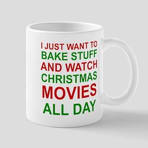 BAKE STUFF & WATCH CHRISTMAS MOVIES... Mugs