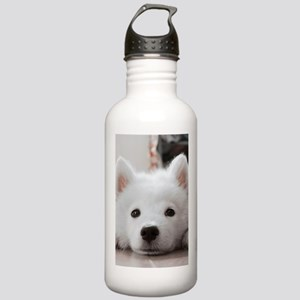 Samoyed Puppy Stainless Water Bottle 1.0L