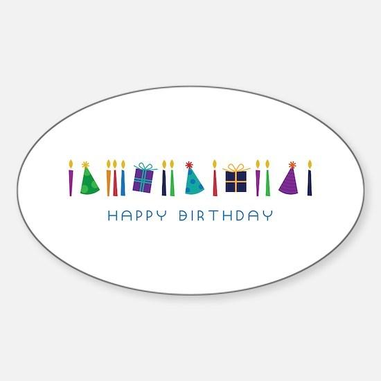 Happy Birthday Decal