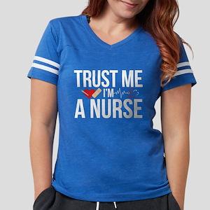 Trust Me I'm A Nurse Womens Football Shirt