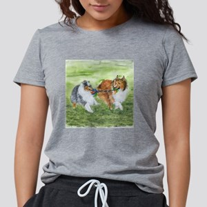 Shetland Sheepdogs At Play T-Shirt