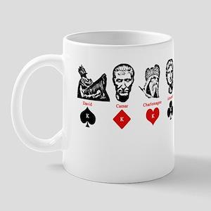 Card suit kings Mug