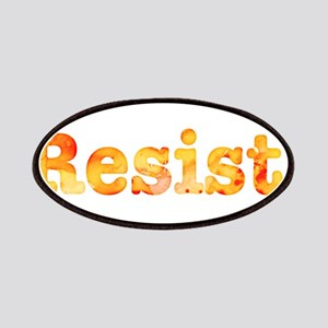 Resist. In Orange Patch
