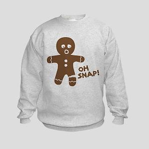 Oh Snap Gingerbread Sweatshirt