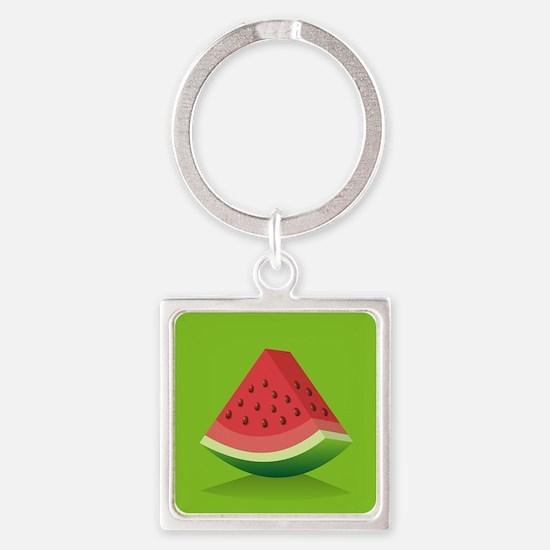 Watermelon Background Keychains