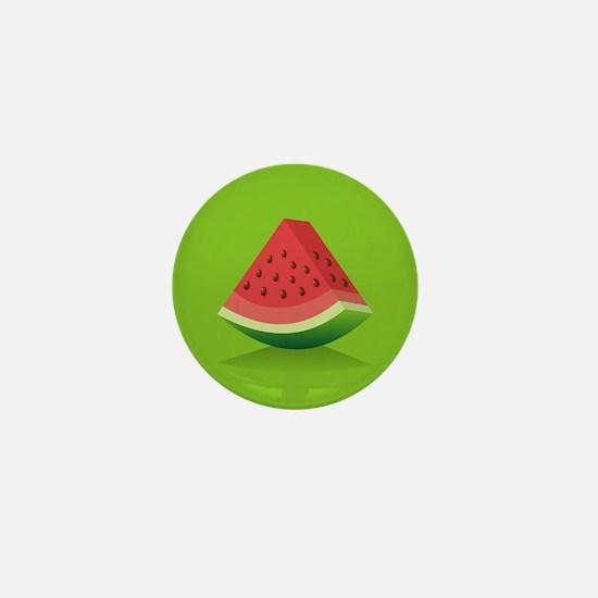 Watermelon Background Mini Button