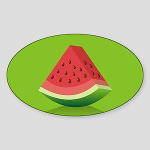 Watermelon Background Sticker