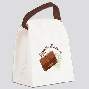 Strictly & Business Canvas Lunch Bag
