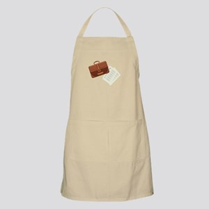 Briefcase & Papers Apron