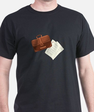 Briefcase & Papers T-Shirt