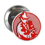 "2.25"" Red Panda Button (10 pack)"
