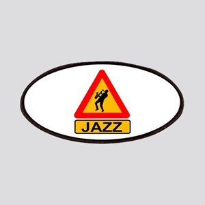 Jazz Caution Sign Patch