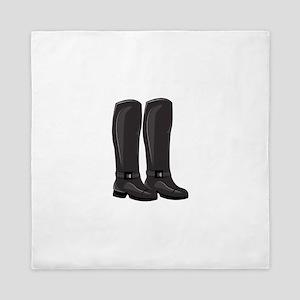 Winter Boots Queen Duvet