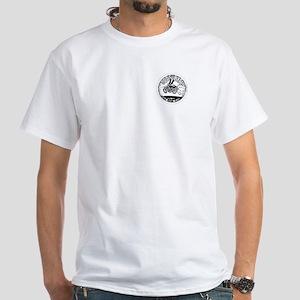 Gods Bats Motorcycle Club White T-Shirt
