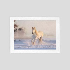 white horse h678 5'x7'Area Rug