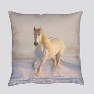white horse h678 Everyday Pillow