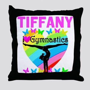 BEST GYMNAST Throw Pillow