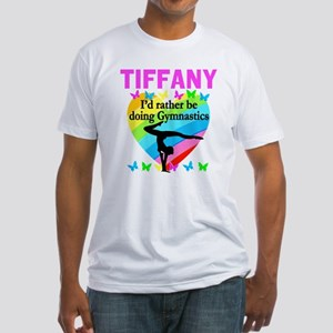 CHRISTIAN GYMNAST Fitted T-Shirt