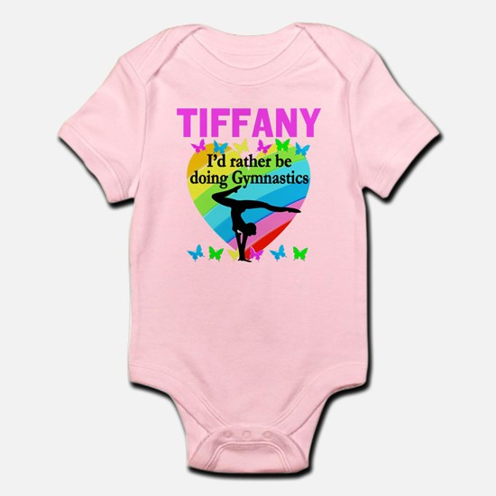 Girls gymnastic personalized baby gifts christian gymnast infant bodysuit negle Images