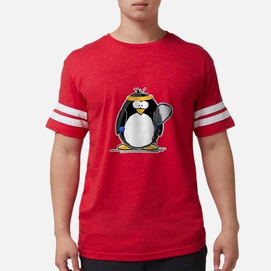 racquetball Penguin T-Shirt