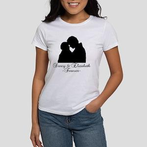 Darcy & Elizabeth Forever Silhouette Women's T-Shi