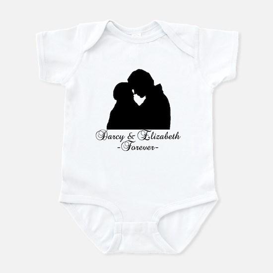 Darcy & Elizabeth Forever Silhouette Infant Bodysu