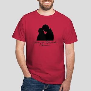 Darcy & Elizabeth Forever Silhouette Dark T-Shirt