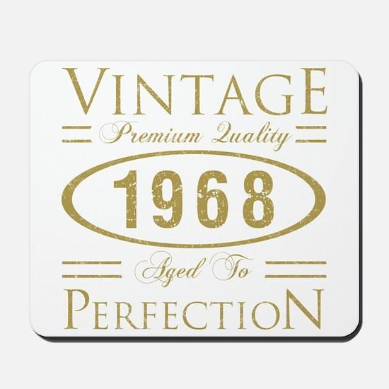 Vintage 1968 Premium Mousepad